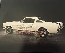 Carroll Shelby Mustang Autographed 8x10 Signed Photo Reprint