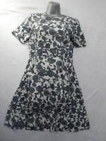 VINTAGE 1960s PAISLEY PATTERN DRESS - MOD / SCOOTER / RETRO