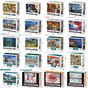 1000 pieces Jigsaw Puzzle Painting Scenery Landscape Educational Home Decor DIY