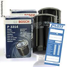 2x Bosch original filtro aceite oilfilter aceite // 0 451 103 276 // P 3276
