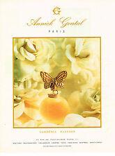 PUBLICITE ADVERTISING 084  1990  ANNICK GOUTAL  parfum GARDENIA PASSION