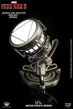 King Arts 1:1 Iron Man Mark XLII Arc Reactor Diecast Movie Prop Replica In Stock