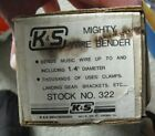 K&S Engineering Mighty Wire Bender Tool #322 NIB