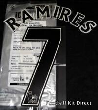 Chelsea Ramires 7 Name/Number Set Football Shirt Lextra 07-13 Sporting ID Away