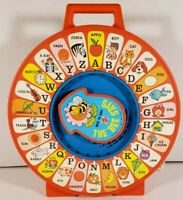Vintage Mattel See N' Say The Bee Says Talking ABC Alphabet Pull String Toy 1983