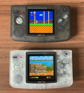 Neo Geo Pocket Color FULL SCREEN Backlit with OSD Menu And NEW CASE