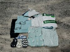 Carter's Baby Boy Clothes Lot Size NB 0-3 Month Footie Sleepers Elephant Set NWT
