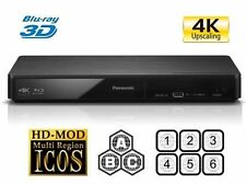 Panasonic DMP-BDT180EB 3D Smart Blu-ray Player - Multiregion Blu-ray+DVD