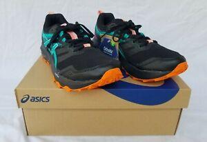New Women's Asics Gel Sonoma 6 Running Shoes 1012A922 001 Black/Baltic Blue