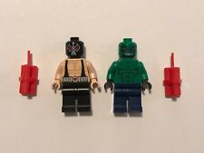 Genuine Authentic Retired Lego DC Super Villains Bane 6860 & Killer Croc 7780 2