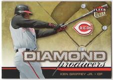"""2006 ULTRA  #DP-4  KEN GRIFFEY JR.   REDS   """"DIAMOND PRODUCERS""""   MINT"""