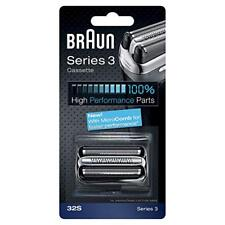 BRAUN 32S Replacement Foil Head Cutter Blades Shaver Razor Cassette Series 3 NEW