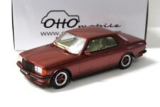 1:18 Otto mercedes 500 CE AMG w123 red new en Premium-modelcars