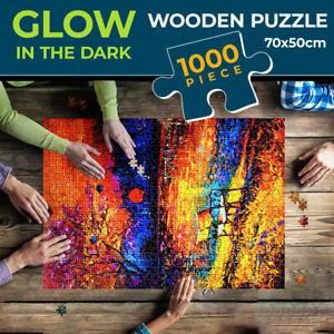 Jigsaw Puzzles 1000 Pieces Set Wooden Adult Kids Toys Activity Games Home Decor