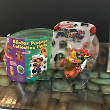 Tomy NINTENDO Super Mario 64 Bowser Koopa Mini Figure Blister Pack Rare