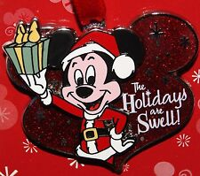 Disney Mickey The Holidays are Swell Christmas Pin