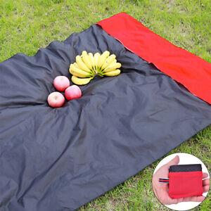Picknick Wandern Decke tragbare Tasche Nylon Camping Mat Teppich faltbare GaODrs