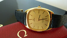 Omega Automatic DeVille 18 karat gold plated .Rare excellent condition.