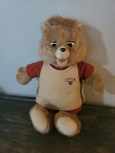 Vintage Teddy Ruxpin 1985 Bear For Parts or Repair