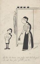 """""""LE MARTINET"""" Dessin à l'encre de Chine par E. LENOIR (années 30)"""