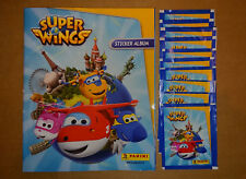 PANINI - SUPER WINGS -  ALBUM VIDE & NEUF + 10 Pochettes Neuves