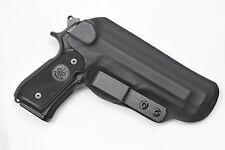 Badger State Holsters- Beretta 92 FS IWB Tuckable Black Custom Kydex