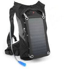 SOLZbag HYDRO Brand New ~ Removable 6.5 solar panel backpack ~ 2 liter water bag