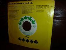 Beatles, Wings, Paul McCartney, Give Ireland back to the Irish, 1972, USA Text
