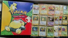 More details for jungle complete pokemon cards set  64/64 with original folder wotc played 1999