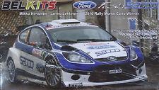 Belkits ® bel-002 ford fiesta s2000 (2010 rally monte carlo winner) en 1:24