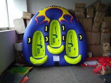FlamingV Inflatable Towable Tube Water Tubing for Boat,Jet Ski, Ski Tube, Tubing