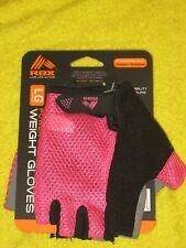 RBX RF-A2319P-LWomens Weight Lifting Gloves Pink Mesh Large, New!