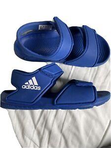 Boys Adidas Akwah Sandals Size Uk 11