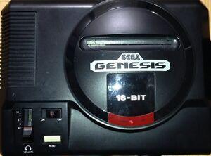 Sega Genesis Model 1 S-Video & Stereo jacks installed Superb video *refurbished*