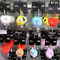 BTS BT21 Official Authentic Goods Standing Plush Mini 11cm 7Characters