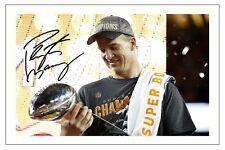 Peyton Manning Broncos De Denver Super Bowl L 50 Foto Firmada impresión Nfl Football
