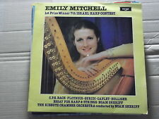 EMILY MITCHELL - 1st PRIZE 7th ISREAL HARP CONTEST - SHERIFF LP ZK 92 nr mint