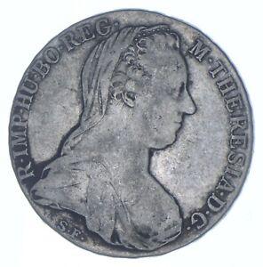 Better Date - 1780 Austria 1 Thaler - Maria Theresia - SILVER *071