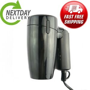 1200W FOLDING TRAVEL HAIR DRYER 220-240 VOLTAGE HEATING COOLING HAIRDRYER