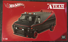 HOTWHEELS - The A Team Van - 1:18 diecast metal GMC