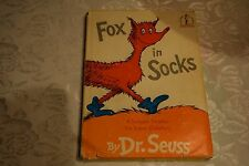 Dr. Seuss 1965 Vintage Collectible Fox in Socks First Ed/2nd State HC RARE Book