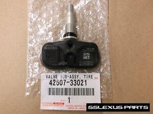 Lexus ES350 (2007-2012) OEM Genuine TIRE PRESSURE (TPMS) SENSOR 42607-33022