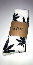 HUF Black And White Plantlife Crew Socks -