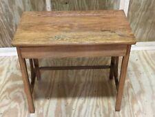 Antique Child's School Desk With Drawer - Excellent
