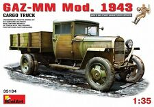 MIN35134 - Miniart 1:35 - GAZ-MM Mod.1943 1.5t Cargo Camion