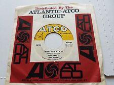 "NINO TEMPLE & APRIL STEVENS - Whispering / Tweedle Dee 1963 JAZZ POP 7"" Atlantic"