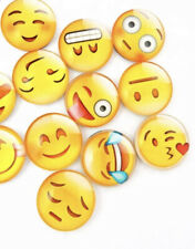 12PK EMOJI FRIDGE MAGNETS WHITEBOARD HIGH QUALITY 3D ASSORTED SEALED SIZE £2