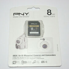 PNY 8G SDHC SD card for Kodak Easyshare Z990 Z5010 M200 Sport C123 ZX5 camera