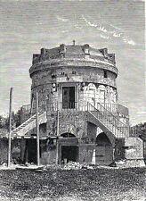 Antique print Mausoleum Theodoric Ravenna Italy 1878  Italia stampa antica