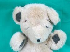 VINTAGE 1979 GUND STITCH PLUSH BROWN TEDDY BEAR HTF STITCHES SOFT BABY SNOUT